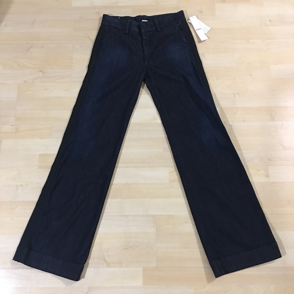 ebf10749bc4 Hudson Jeans Jeans | Hudson Joplin Wide Legs Flare Trousers Nwt ...